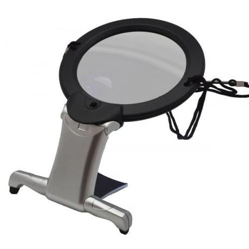 Lupa na krk 2x/5x CM-22 s LED světlem