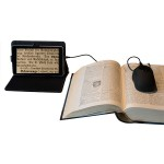 """Digitální lupa 6-60x s 7"""" tabletem DM-70, připojení na TV a PC"""