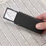 Skládací lupa 5x LP-66, LED osvětlení
