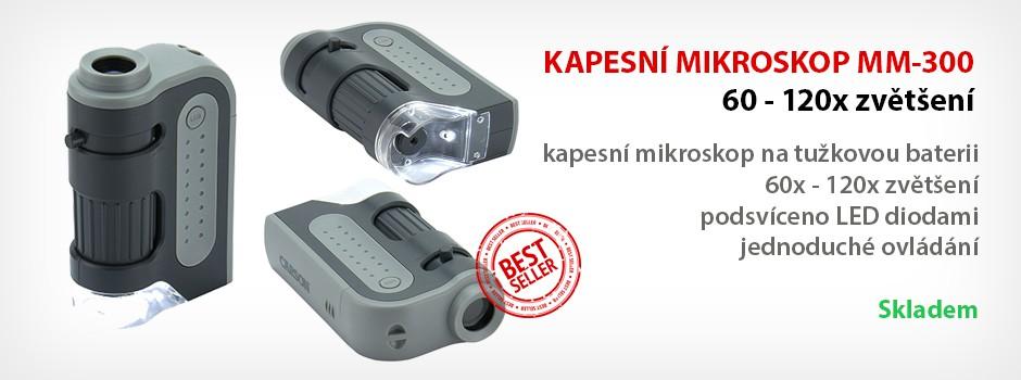 Kapesní mikroskop MM-300