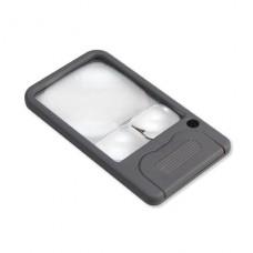 Kapesní lupa 2,5x Carson PM-33 s LED
