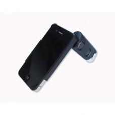 Mikroskop 60-100x s adaptérem na iPhone 4/4S Carson MM-250