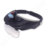 Head-worn Magnifier Carson MagniVisor CP-60 with LED