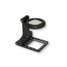 Skládací tiskařská lupa 6,5x LT-60 kovová