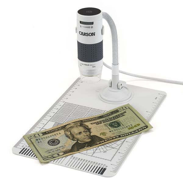 Digitální mikroskop 75x-300x Carson MM-840 s LED podsvícením