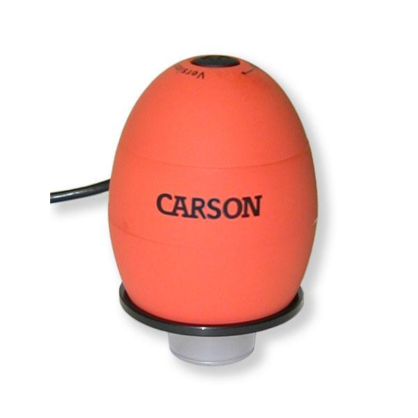 Digitální mikroskop 35x s kamerou Carson MM-480 oranžový